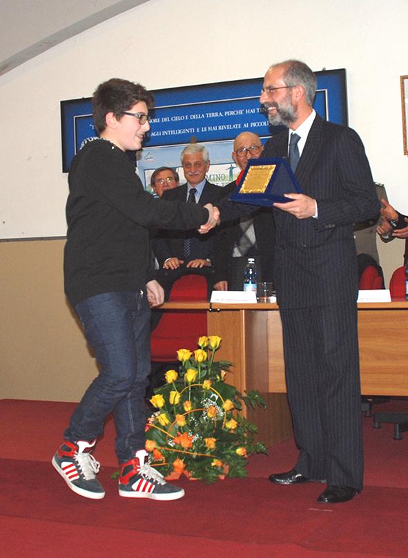 Vincitore del concorso Pompeo Angelucci